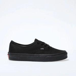 VANS Classic Black On Black Canvas Sneakers
